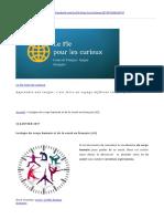 Lexique Du Corps Humain Et de La Santé en Français (A2)
