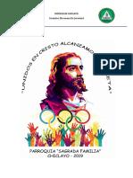 Bases (Actualizado) - Vigésimo Olimpifestival Diocesano 2019 - Chiclayo
