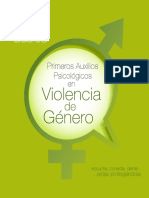 Guía de Primeros Auxilios Psicologicos en Violencia de Genero