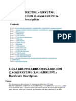 RRU5901 Hardware Description