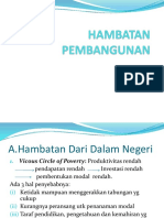 (5)Hambatan Pembangunan (5)