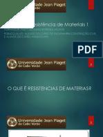 Resistências de Materiais 1 - Aula 2
