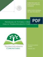 Programa de Tutoría TBC