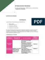 INFORMACIÓN DEL PROGRAMA SABER.doc