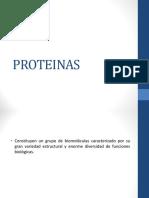 PROTEINAS BIOQUIMICA AMINOACIDOS