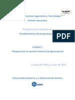 Preparando el camino hacia la programación (1)