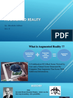 Ppt on Augmented Reality in Marketing