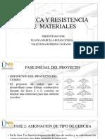 ESTÁTICA Y RESISTENCIA DE MATERIALES UNAD
