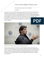 Usip.org-Pakistans Leader Vows to Press Afghan Taliban to Join Talks