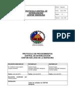 Protocolo Central Esterilizacion 2016