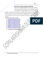 FIVE_YEAR_PLANS_FOR_THE_TEXTILE_INDUSTRY.doc