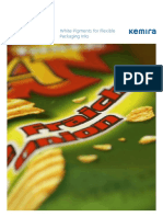 White Pigments for Flexible Packaging Inks Brochure - Kemira
