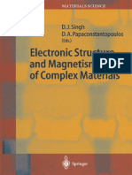 Electronic Structure and Magnetism of Complex Materials 2003