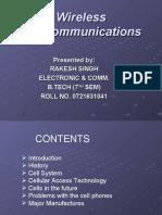 Wireless Telecommunication 1