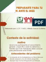 Presentación para curso de pensiones ante el IMSS