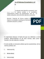 1.- Relación Sistema Económico y Sistema Juridico 1.2