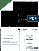 252095103 Dynacmique Des Structures Tome 1 Principes Fondamentaux J PenzIEN Et R W ClouGH