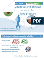 Chemical and Physical Analysis for Food Products