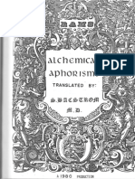 Alchemical Aphorisms