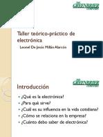 Taller Teórico-práctico de Electrónica