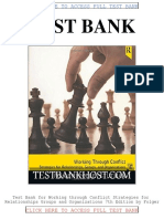 Test Bank Working Through Conflict Strategies for Relationships Groups and Organizations 7th Edition