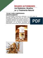 Enfermedades Autoinmunes. Medicina Sistémica