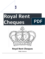 Royal Rent Cheques