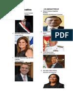 Ministros de La Republica