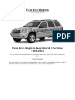 Fuse Box Diagram Jeep