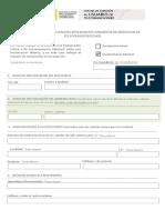 formulario reclamaciones