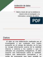 Métodos de recolección de datos.ppt