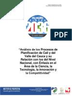 Agenda Ciencia y Tecnologia Valle Del Cauca