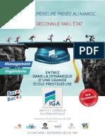Brochure IGA Ecole-Ingenieurs Managers