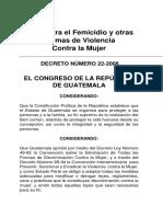 ley femicidio guatemala