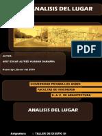 Analisis Del Lugar