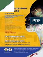 """Festival """"Arte Benessere e Creativita""""  8a Edizione_Coscienzionismo nell'Arte"""