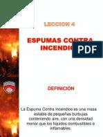 LECCIÓN 4 ESPUMAS CONTRA INCENDIOS.pptx