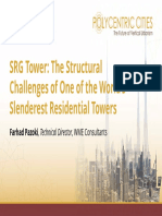 Srg Tower the Structural Challenges of One of the Worlds Slenderest Residential Towers