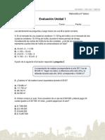 ensayo matematica 6to