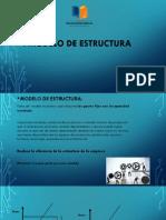 4 Modelo de Estructura