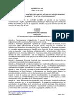 Acuerdo 08 de 2014 Reglamento Interno
