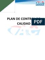 Plan de Control de Calidad 14 Estantes