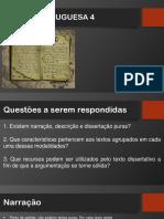 Língua portuguesa tipologia