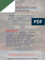 Jesus y La Salvacion