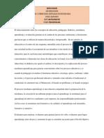 El Relacionamiento Entre Conceptos.