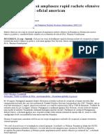 SUA Nu Vor Reuși Să Amplaseze Rapid Rachete Ofensive În România