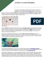 SUA Utilizarea Insectelor CA Armă Biologică