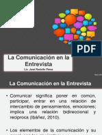 La Comunicacion en La Entrevista