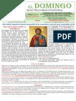 11 Domingo Post Pentecostes 2019