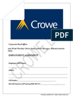 _employment Offer Letter From Crowe